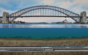 Contract awarded to deliver $2.81 billion Sydney harbour rail crossing
