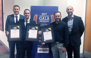 Protech trainees win top honours at industry awards