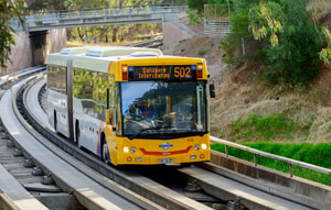 O-Bahn City Access project opened on time and on budget