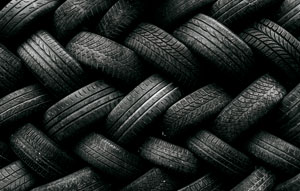 Turning old tyres into new roads