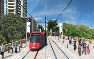 Parramatta's $1B light rail stage 1 gets planning approval