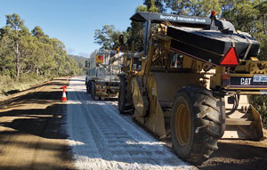 Adoption of stabilisation saves project building in TAS