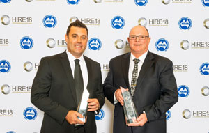 United crowned Best Rental Company in Australia at HIRE18 awards