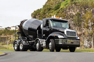 Efficiency and safety at the core of new Dynamix concrete mixer