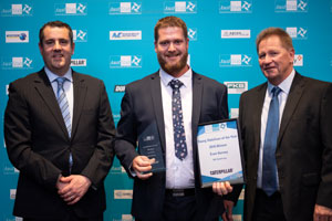 Strong support major driver for 2018 Young Stabiliser of the Year winner