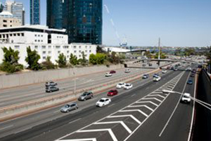 Works on $89M Mitchell and Kwinana Fwy upgrades underway