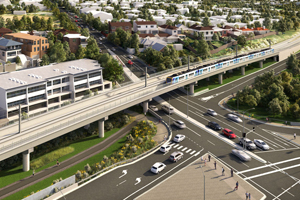 Toorak Road Level Crossing due to reopen six months early