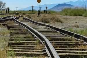 Cross River Rail Woolloongabbe site works on track