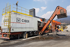 Mobile plant for major projects