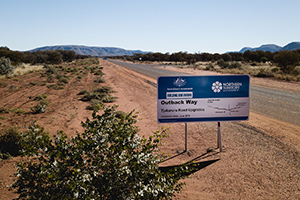 Contractors progress 40km of Outback Way sealing in WA