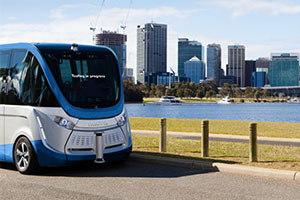 Driverless bus hits Tasmanian roads