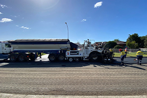 NSW council trials Reconophalt for asphalt renewal