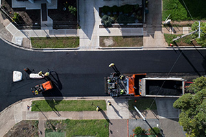 Largest crumb rubber asphalt trial complete in South Australia