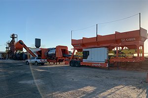 Recycling pavement with the iNOVA series