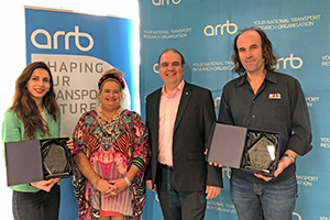 Innovators win big at the National Transport Research Awards