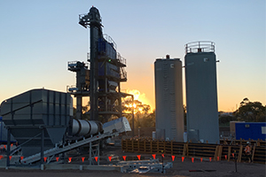 Asphalt plant to boost tyre recycling, with Tyrecycle