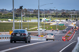 First level crossing gone as part of $1B Cranbourne Line Upgrade in VIC