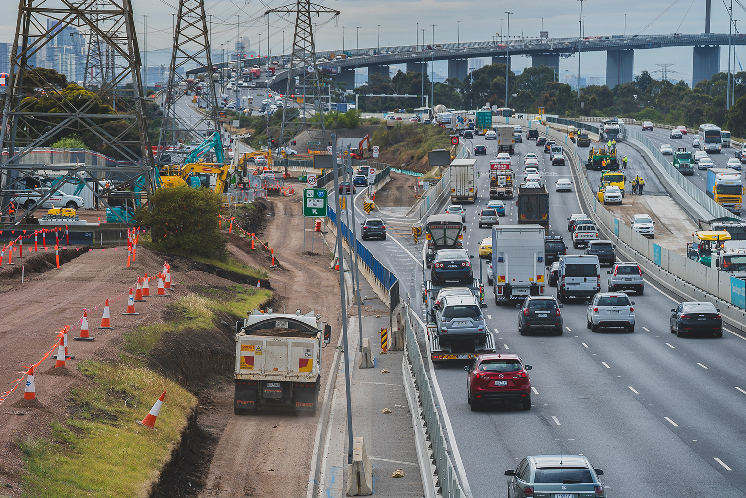 Melbourne lockdown weighs on Transurban FY results, with West Gate cost blowout looming
