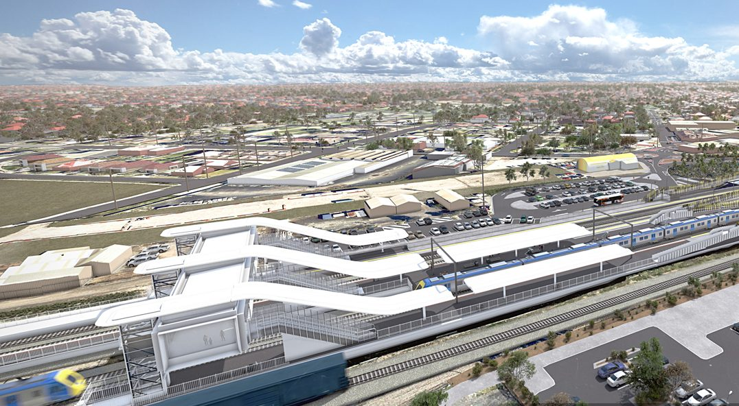 Melbourne Airport Rail early works tender now open