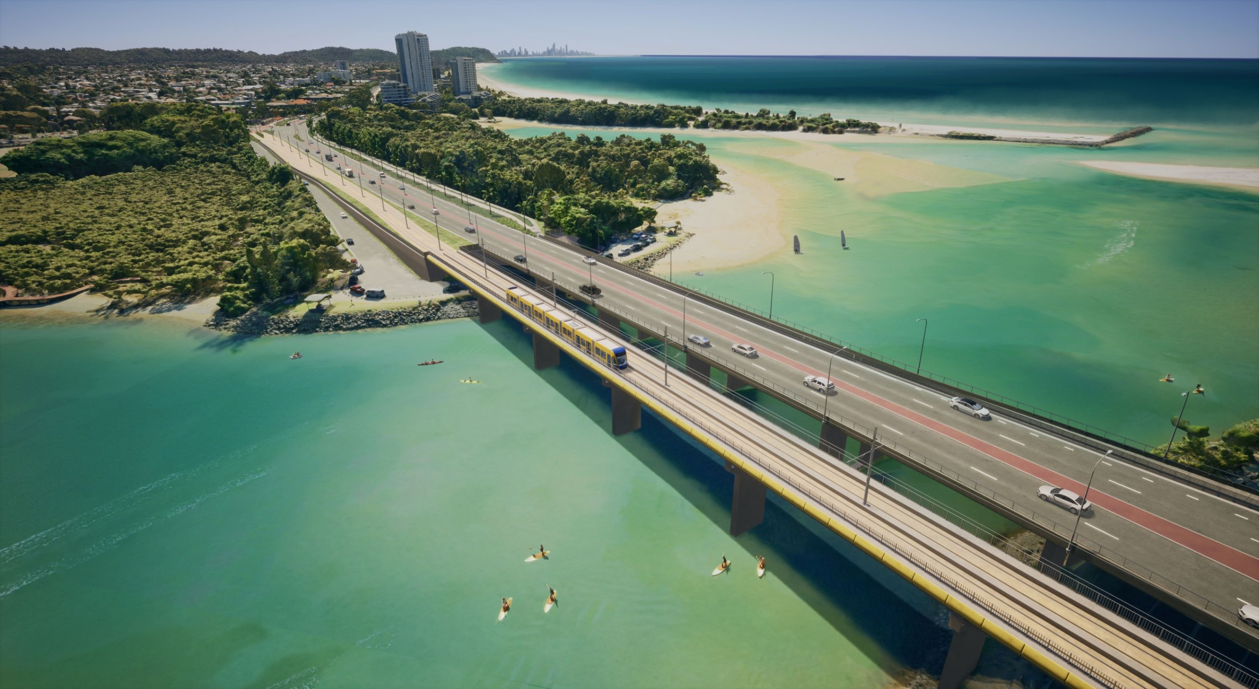 First look revealed for Gold Coast light rail beyond Burleigh