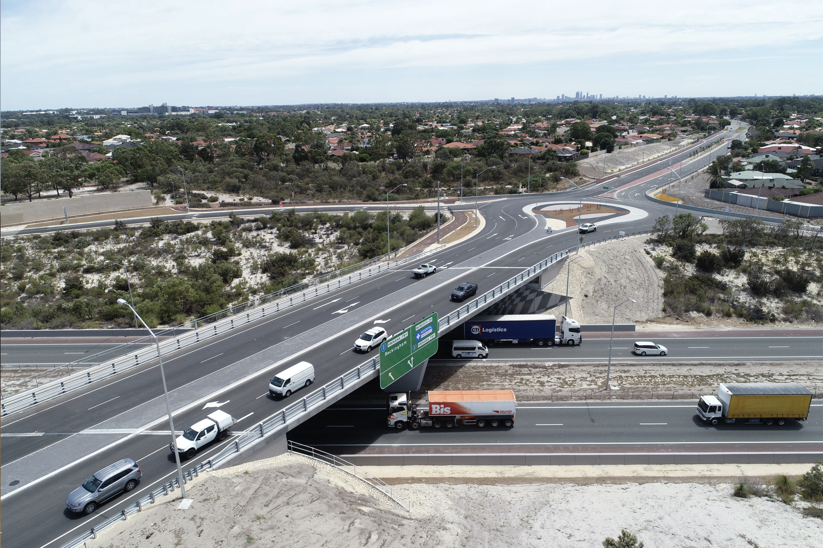 Perth's Karel Avenue upgrade nears completion