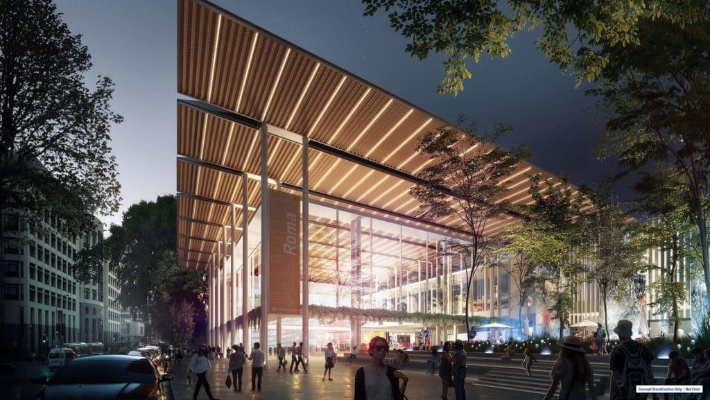 Brisbane getting Olympics ready with Roma Street transformation