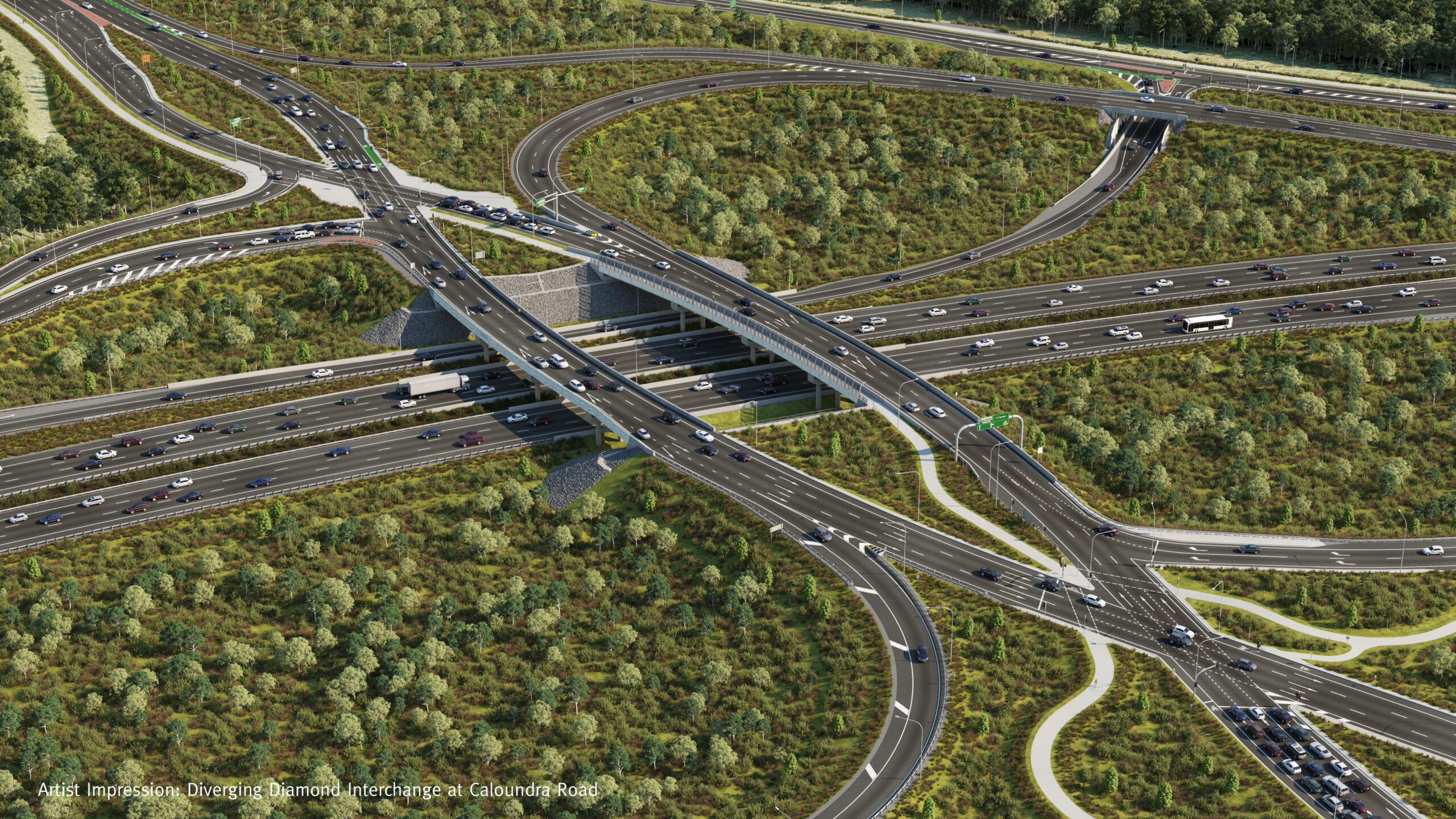 Major construction milestone for the Bruce Highway