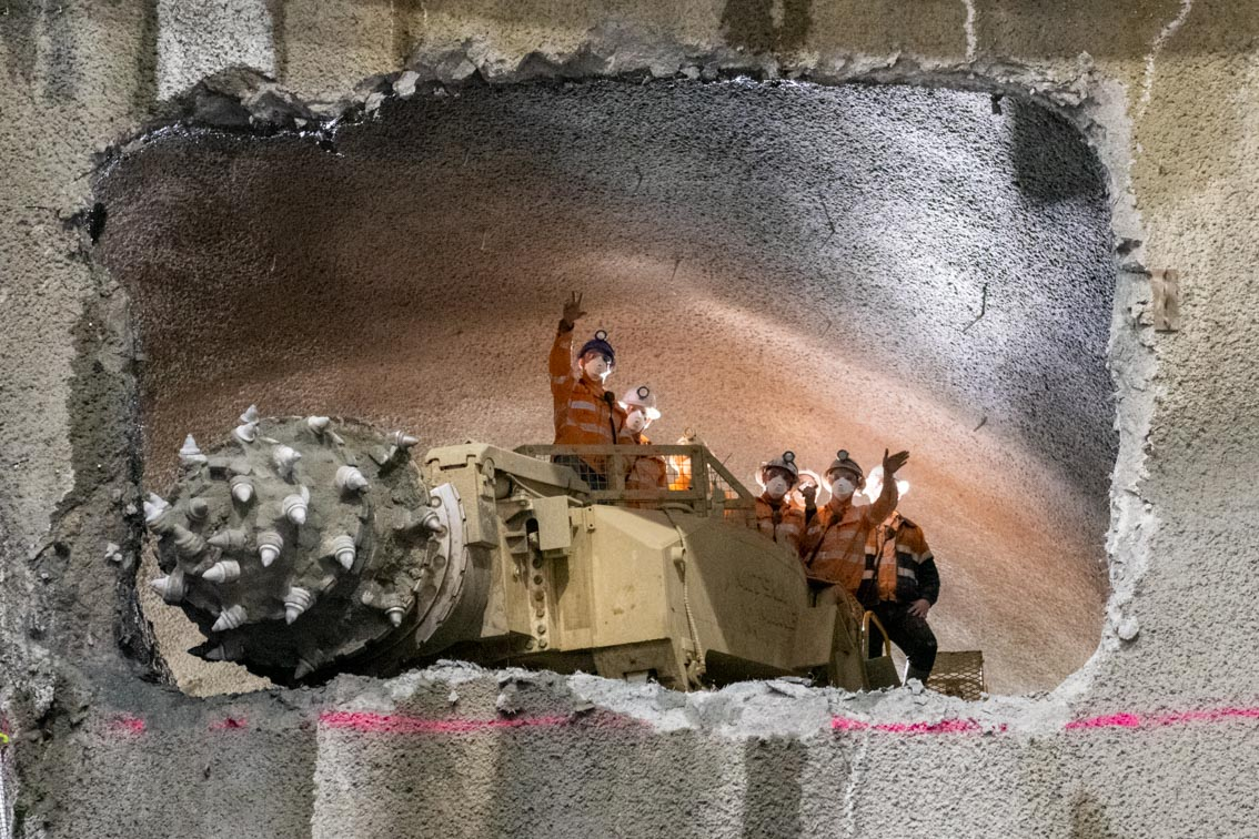 New milestone for Melbourne's Town Hall Station excavation