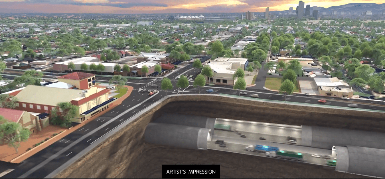 SA's Torrens to Darlington early works get underway