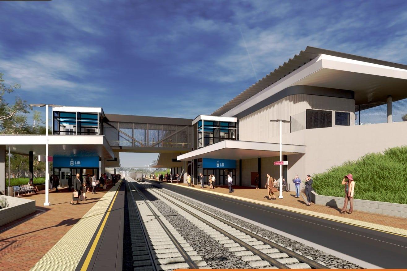 Construction begins on WA's Lakelands Station