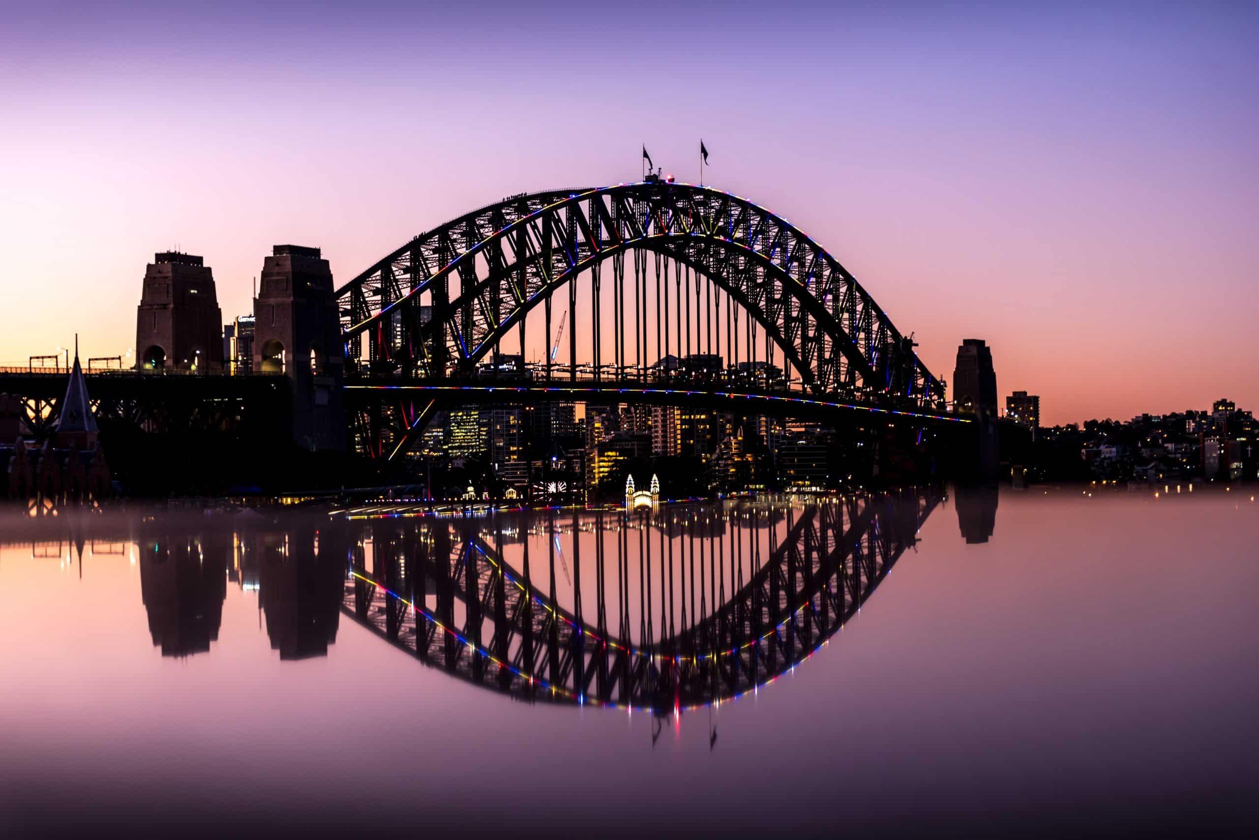 Competition starts to design new bike ramp for Sydney Harbour Bridge