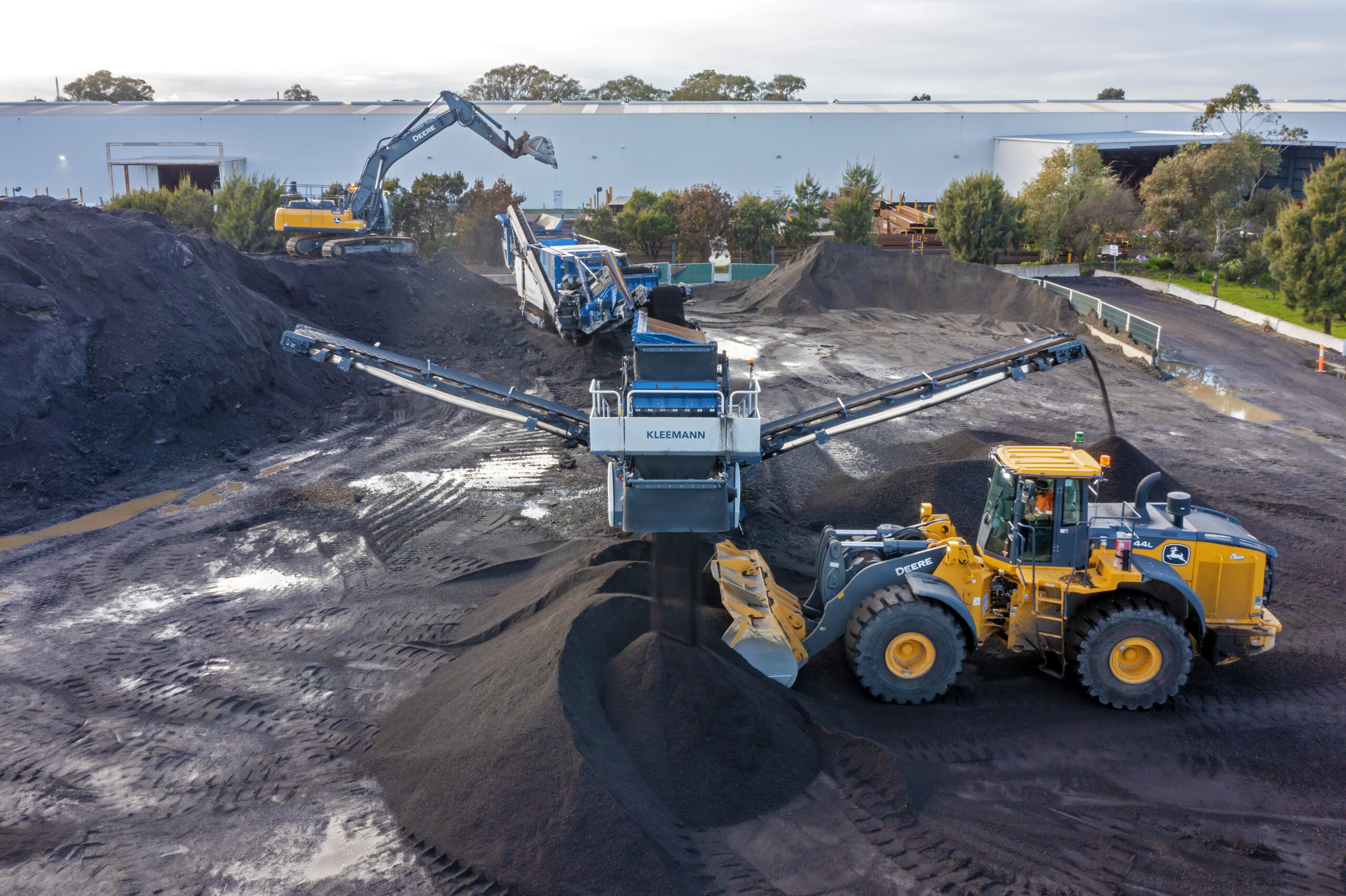 The combined power: John Deere and The Wirtgen Group