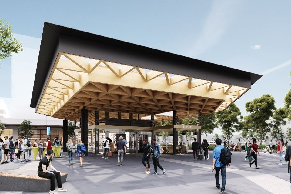 Suburban Rail Loop's Monash station concept design released