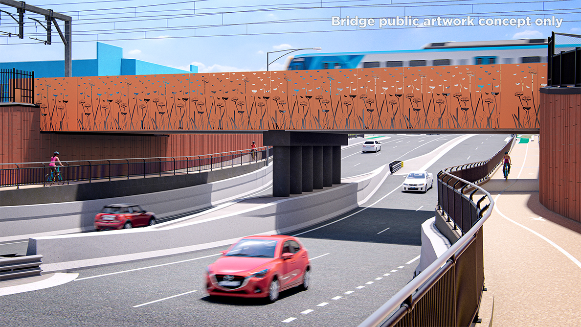 Melbourne's Sunbury level crossing removal gets underway