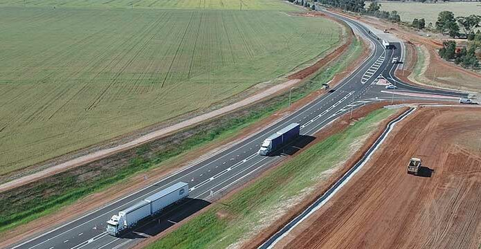 Local business to assist with NSW Newell Highway works