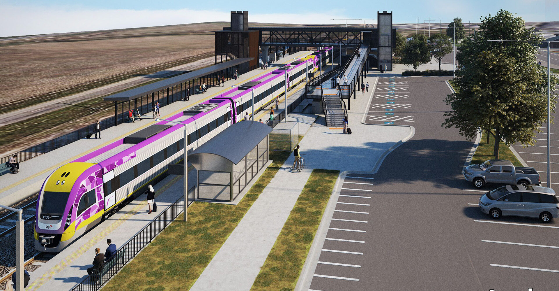 Works powering ahead on Waurn Ponds Station upgrade