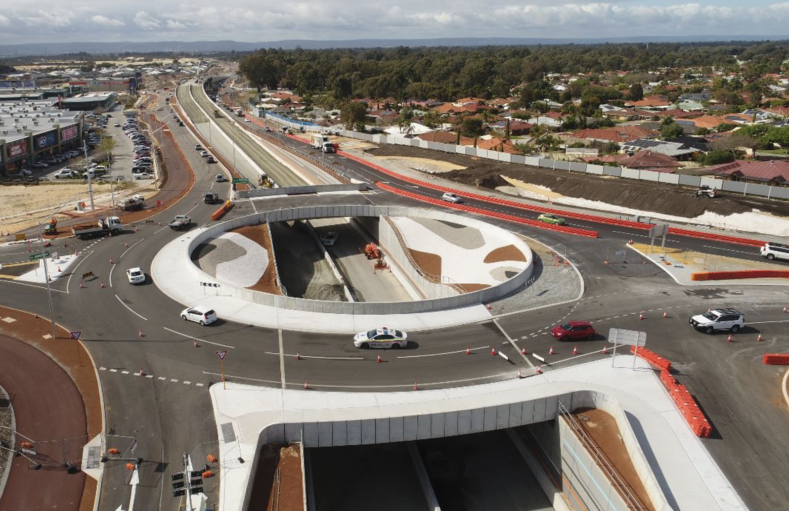 Armadale Road project in WA nears completion