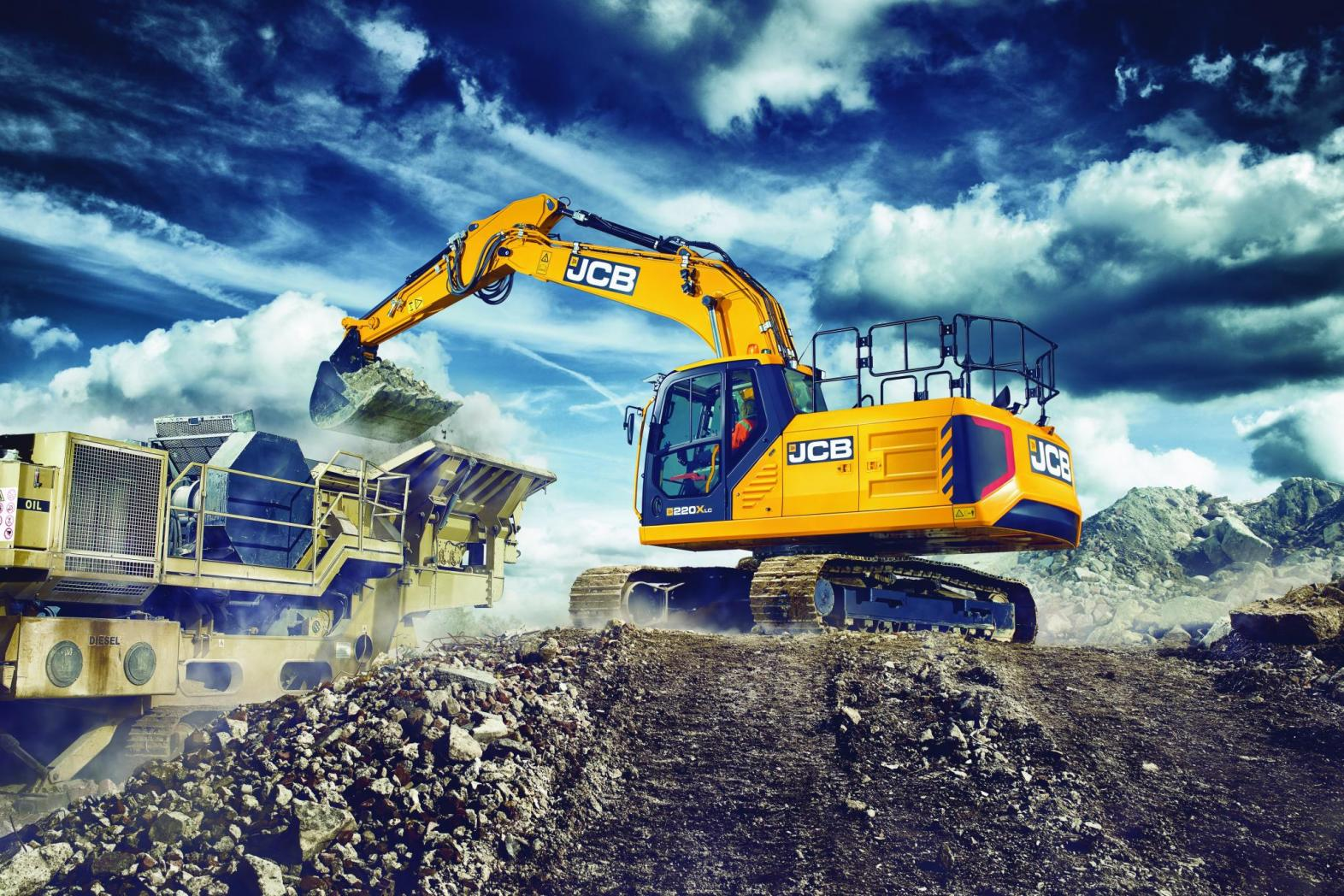 Extreme strength: JCB's X Series heavy line excavators