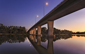 A $280 million second Murray River crossing to connect Echuca in VIC and Moama in NSW has started development according to the LBRCA.