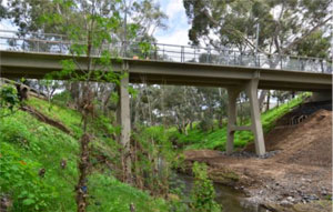 Restoration, repairs and upgrade of the Sir William Goodman Bridge