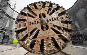 The first of two tunnel boring machines have commenced on the project, beginning its 8km subterranean journey to Bayswater from the future Forrestfield Station site in Perth.