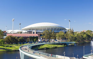 Contract won for security bollards at Adelaide Oval