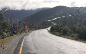 Safety works begin on Great Alpine Road