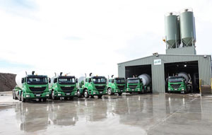 Iveco delivers 10 ACCOs to concrete fleet