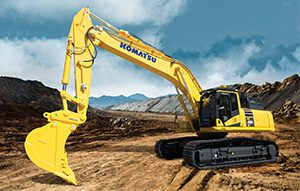 Komatsu has released a new 50 tonne class excavator, designed for heavy construction, quarrying and demolition applications.