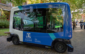 Melbourne Uni launches autonomous vehicle