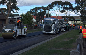 Downer and Close the Loop partner for recycled asphalt