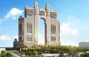 mageba, suppliers of structural bearings, expansion joints and other high quality products for transport infrastructure and building construction sectors, designed a special seismic isolator for the 39-storey Fairmont Hotel in Abu Dhabi.
