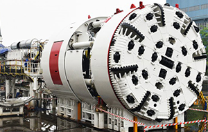 First tunnel boring machine on its way to Sydney Metro