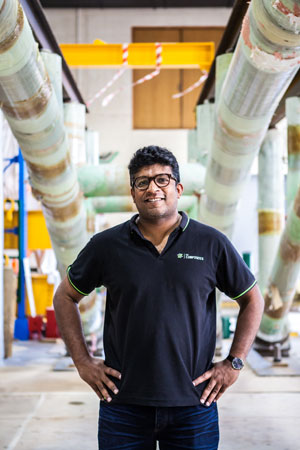 University of Queensland (UQ) engineers have helped develop a time saving hybrid fiberglass-concrete-steel bridge construction technique, which has also won the inaugural BERD-FEUP World Innovation in Bridge Engineering award.